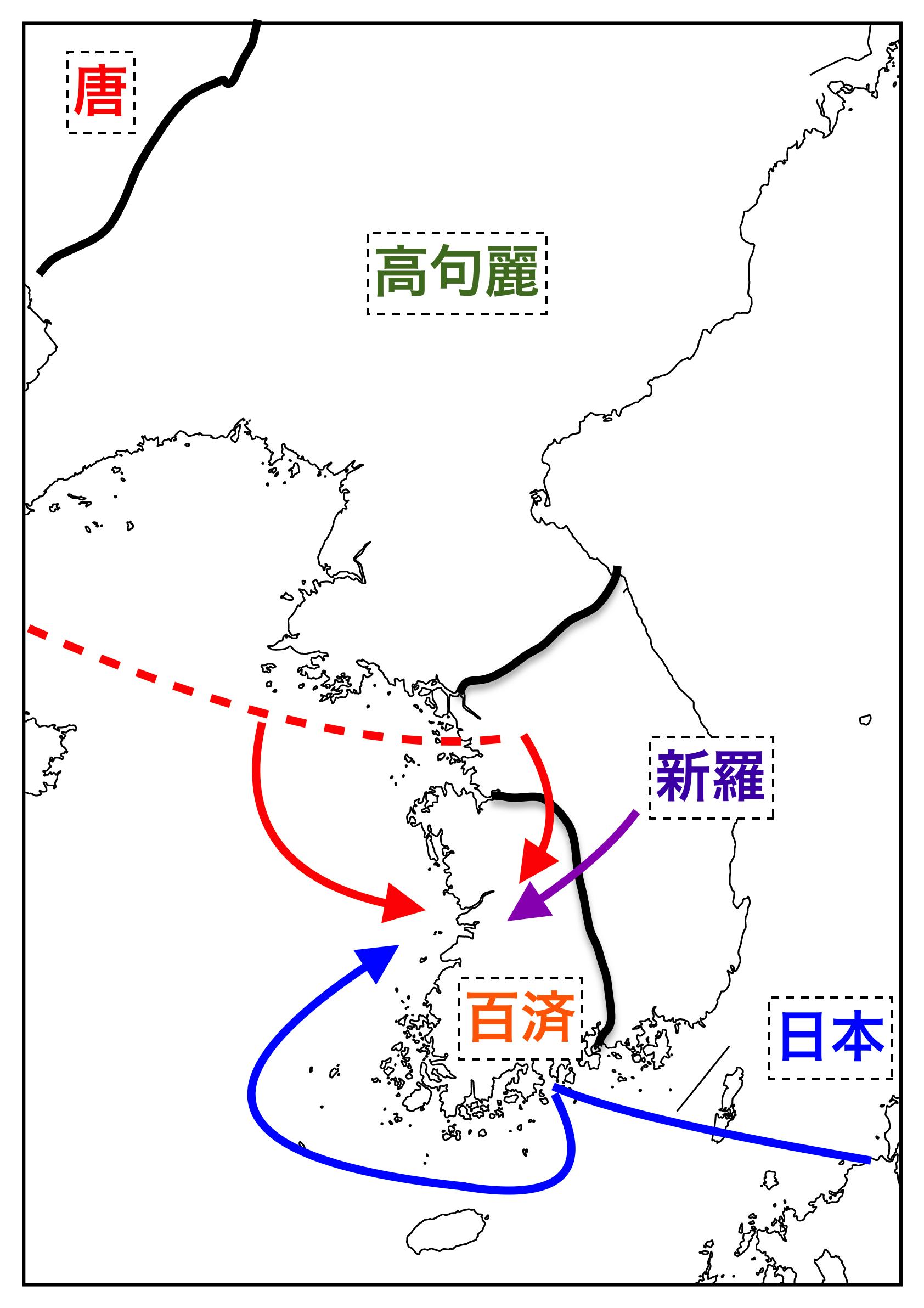 日本が大敗した白村江の戦いをわ...